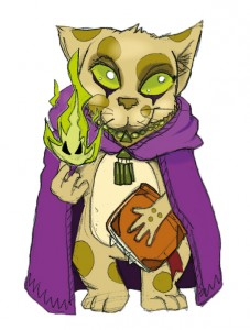 A spellcasting Michtim Cultist