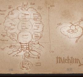 Turnaya Map Sketch