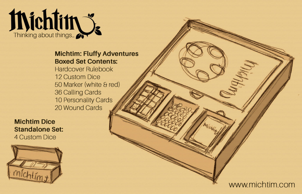 What a Michtim Boxed Set could look like