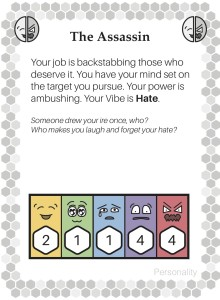 Personality Cards for ultra-fast Character Generation!